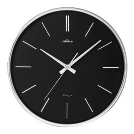 Atlanta 4456/19 Quartz Wall Clock with Silent Movement