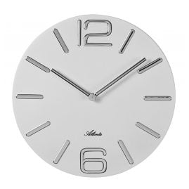 Atlanta 4512/0 Wall Clock Quartz White