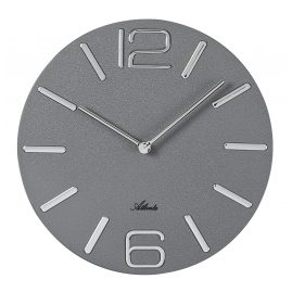 Atlanta 4512/4 Wall Clock Quartz Grey