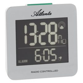 Atlanta 1812/19 Radio-Controlled Digital Alarm Clock