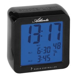 Atlanta 1816/7 Radio-Controlled Alarm Clock