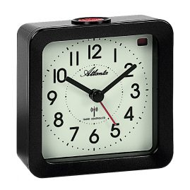 Atlanta 1854/4 Radio-Controlled Alarm Clock with Luminous Dial