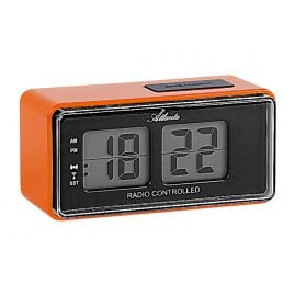 Atlanta 1881/12 RC Alarm Clock with Retro Design
