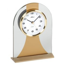 Atlanta 3122/9 Quartz Table Clock with Alarm