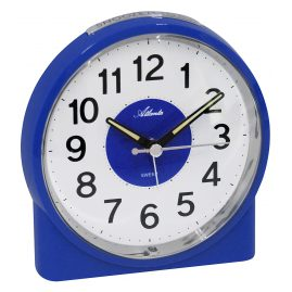 Atlanta 1986/5 Alarm Clock with Melody Blue
