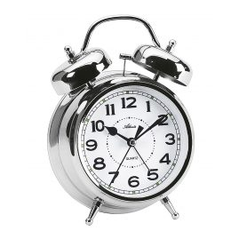 Atlanta 1647/19 Large Alarm Clock with Double Bell