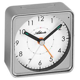 Atlanta 1965/19 Quartz Alarm Clock Silver Tone