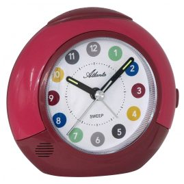 Atlanta 1526/1 Kids Alarm Clock Red