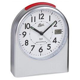 Atlanta 1898/19 M Radio-Controlled Alarm Clock Magic Silver