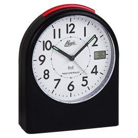 Atlanta 1898/7 M Radio-Controlled Alarm Clock Magic Black