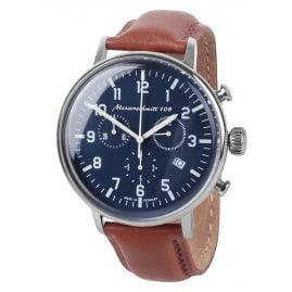 Messerschmitt ME-108-80L Mens Pilots Watch Chronograph
