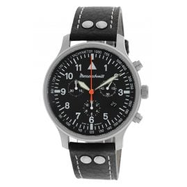 Messerschmitt ME-3H202 Men's Watch Chronograph with Leather Strap