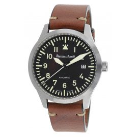 Messerschmitt ME-6144-1VIN Men's Aviator Watch Automatic with Leather Strap