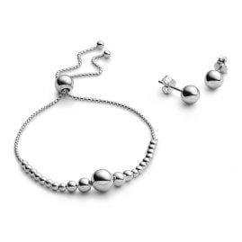 Pandora B801036 Ladies Jewellery Set Bracelet and Earrings