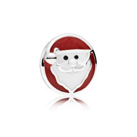 Pandora 792168ENMX Happy Santa Claus Petite Locket Element