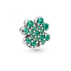 Pandora 797867NRG Silber Element für Medaillon Four-Leaf Clover und Ladybird
