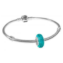 Pandora 35697 Armband Türkisfarbene Facetten