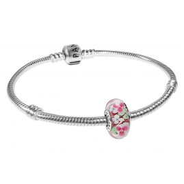 Pandora 35698 Ladies Bracelet Flower Garden