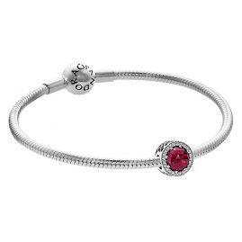 Pandora 35975 Armband-Set Kirschroter Strahlenkranz der Herzen