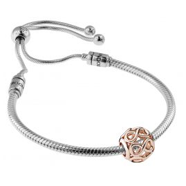 Pandora 08663 Bracelet Set Moments Sliding and Infinity Rose