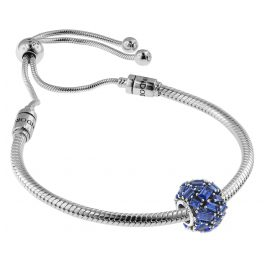 Pandora 08659 Armband-Set Moments Sliding und Chiselled Elegance Sea Blue