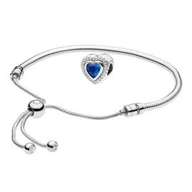 Pandora 08661 Bracelet Set Moments Sliding and Sparkling Love