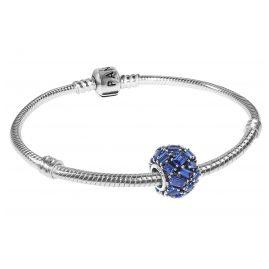 Pandora 08674 Armband-Set Chiselled Elegance Sea Blue