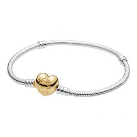 Pandora 560719 Armband Moments Silber & Shine Herz