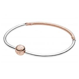 Pandora 588143 Bracelet Bangle Moments Silver / Rose