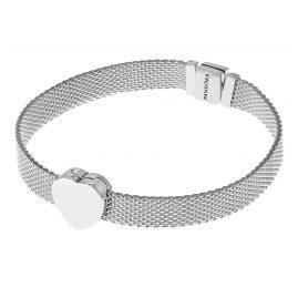 Pandora 75333 Reflexions Silver Women's Bracelet with Heart Clip