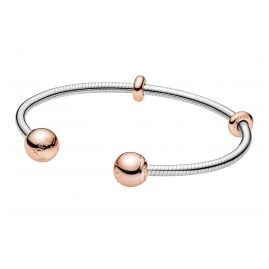 Pandora 588291 Rose Damen-Armreif Moments Snake Chain Style
