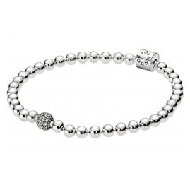 Pandora 598342CZ Bracelet for Ladies Beads & Pavé