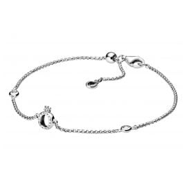 Pandora 598276CZ-20 Ladies´ Bracelet Sparkling Crown O