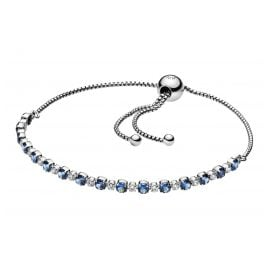 Pandora 598517C01 Ladies' Bracelet Blue & Clear Sparkle
