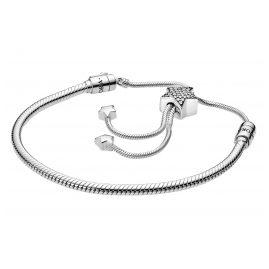 Pandora 598528C01 Silber Damen-Armband Pavé-Stern