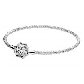 Pandora 598616C01 Ladies' Bracelet Moments Bright Snowflake