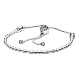 Pandora 598699C01 Ladies' Bracelet Moments Pavé Heart