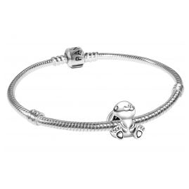 Pandora 75703 Silber-Armband mit Nini der Hase Bead-Charm
