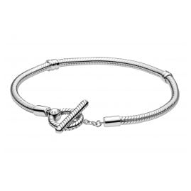Pandora 599082C00 Damen-Armband Moments T-Bar Silber