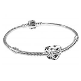 Pandora 39496 Women's Bracelet Love You Mum Infinity Heart