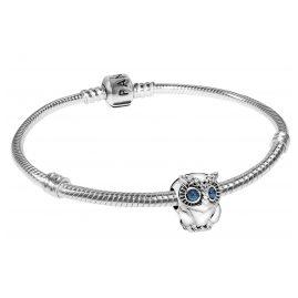Pandora 39499 Damen-Armband Funkelnde Eule