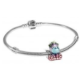 Pandora 39802 Damen-Armband Bunter Regenbogen Bruno das Einhorn