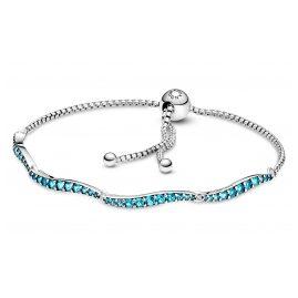 Pandora 599436C01 Damen-Armband Blaue Welle