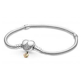 Pandora 569563C01 Damen-Silberarmband Disney Prinzessinnen