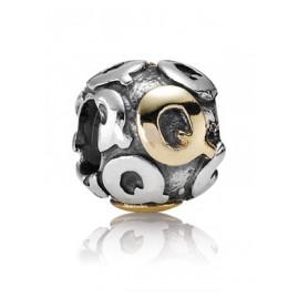 Pandora 790298Q Buchstabe Q Silber-Charm
