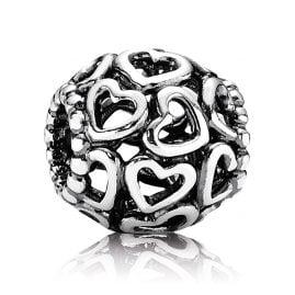 Pandora 790964 Silber Charm Öffne Dein Herz