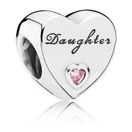 Pandora 791726PCZ Charm Daughter Heart