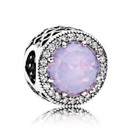 Pandora 791725NOP Charm Strahlenkranz der Herzen Rosa