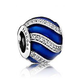 Pandora 791991EN118 Charm Blaue Ornamente
