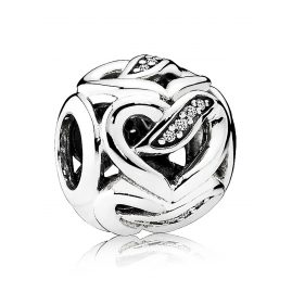 Pandora 792046CZ Charm Ribbons of Love